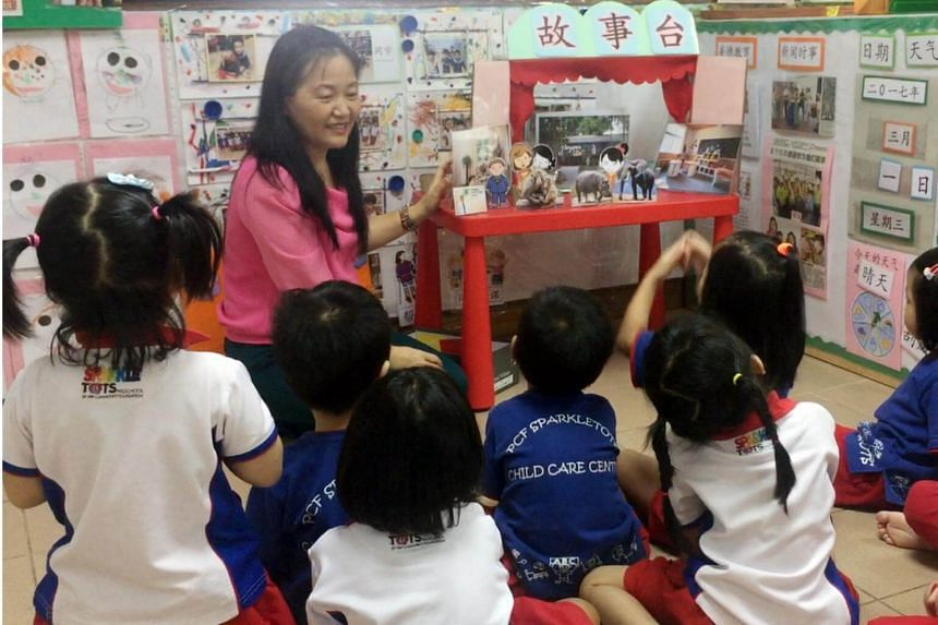 PCF Sparkletots Preschool is one of the schools that has received the Singapore Preschool Accreditation Framework (Spark) quality mark.