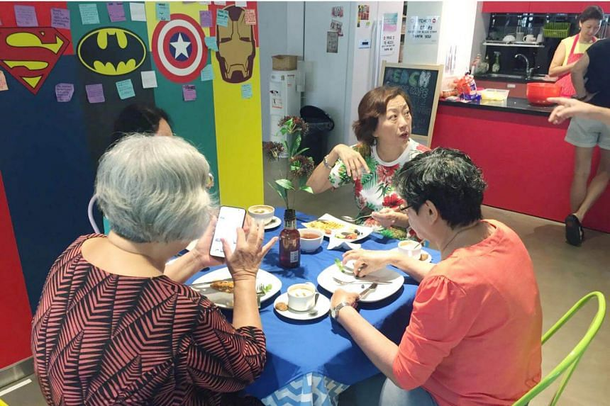 """The Reach Community Cafe aims to draw seniors who live alone or who are """"at risk of social isolation"""" out into a social space to """"make new friends, enjoy a meal and learn together""""."""