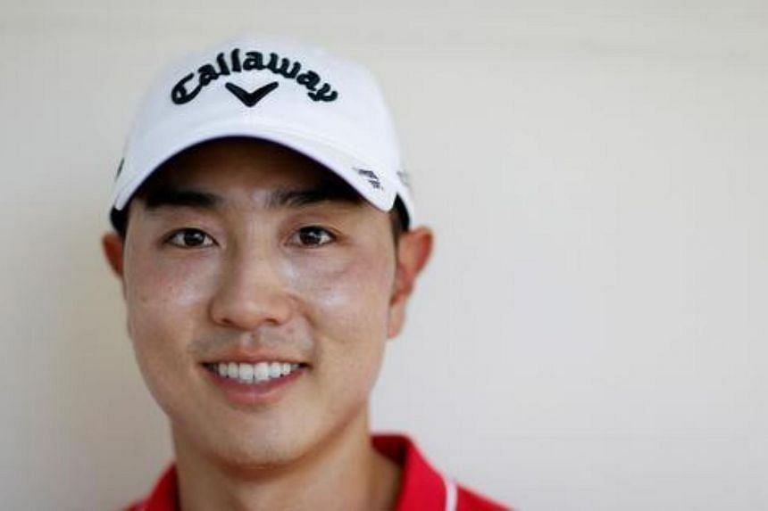 The two-time PGA Tour winner stepped away from golf to complete his mandatory stint in the South Korean military.