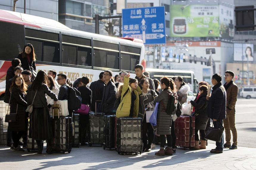 Visitors to Japan rose 18 per cent to 18.9 million in the first eight months of the year, on course to beat 2016's record 24 million, Japan National Tourism Organisation data show.