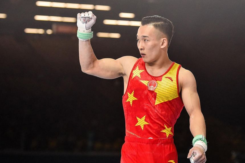 Xiao Ruoteng overcame a late deficit and posted a score of 86.933 as China sealed the top two spots in the standings.