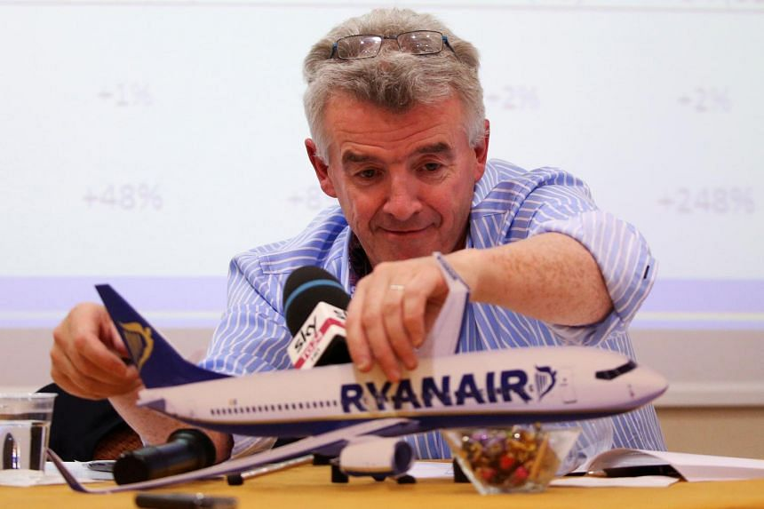 """Chief executive officer Michael O'Leary sent a three-page letter to its pilots promising """"significant improvements to your rosters, your pay, your basing, your contracts and your career progression over the next 12 months""""."""