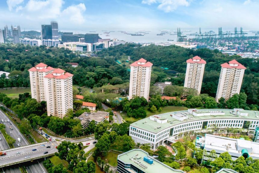 A file picture of Normanton Park, which was the latest residential project to go en bloc. PHOTO: KNIGHT FRANK