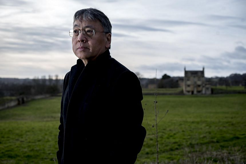 The English novelist Kazuo Ishiguro is pictured in Chipping Camden, England, on Jan 26, 2015.