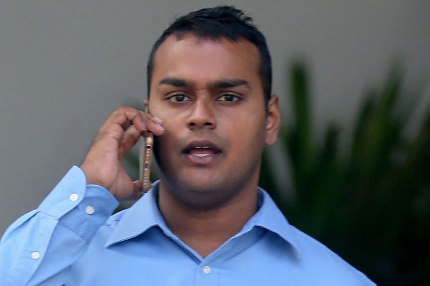 Kuhaannath Pillai, a supervisor at a cleaning firm, was jailed for two weeks.