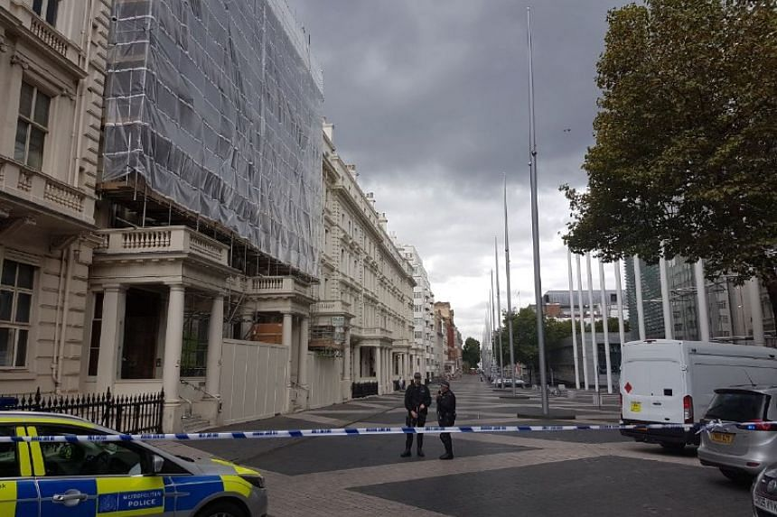 Police have cordoned off the area surrounding the museum.