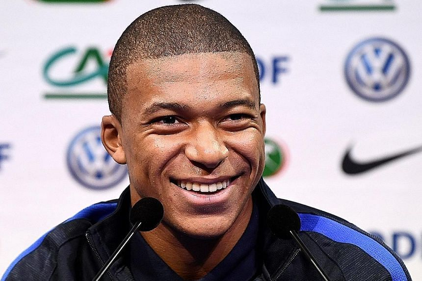 Kylian Mbappe, 18, was not even born the last time France failed to qualify for the 1994 World Cup Finals.