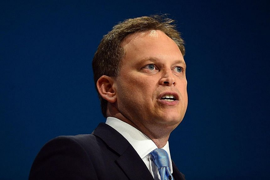 Mr Grant Shapps is identified as the ringleader of the effort to oust May. His group is said to number 30.