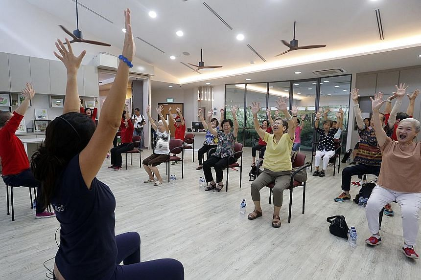 According to figures released last week, there are already nearly 200,000 people aged 75 and above in Singapore, half of whom are already in their 80s. Many may need long-term care.