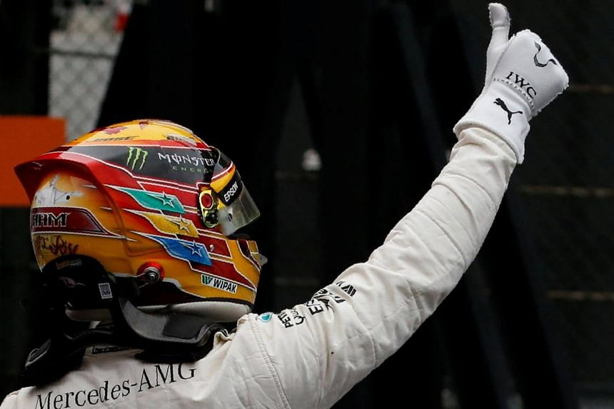 Formula One Championship leader Lewis Hamilton lapped the Suzuka Circuit in 1min 27.319sec in his Mercedes, the fastest ever at the 5.8km track, to finish well clear of his rivals.