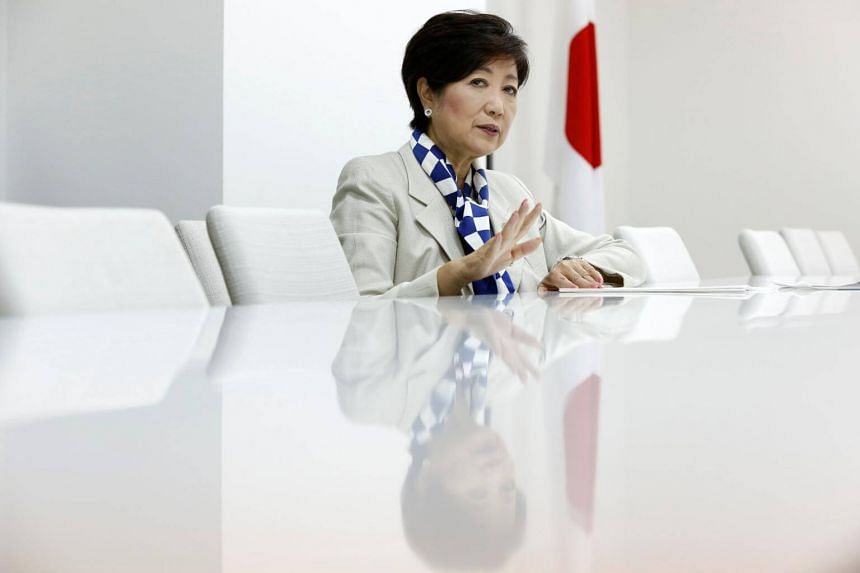Tokyo Governor Yuriko Koike said that all options were on the table regarding whom her party would back when Parliament convenes to vote on a prime minister after the election.