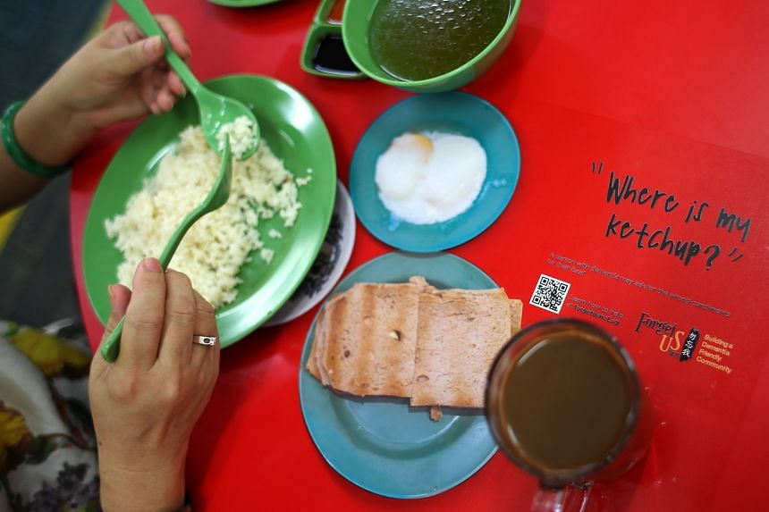 15 stall holders at Kim San Leng Food Centre at Block 511, Bishan Street 13, have been trained to recognise and help possible dementia sufferers in what is billed as Singapore's first dementia-friendly coffee shop.