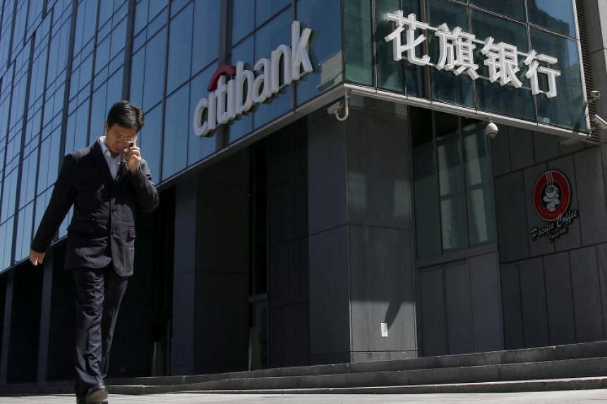 A Citibank branch in Beijing. Citi's sharpened focus on its Asia equities business, which includes stock trading and research, is part of its global effort to bolster trading technology, hire senior bankers and boost financing to hedge funds.