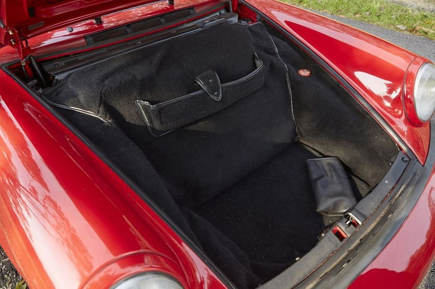 What's in the boot?: Tool kit.