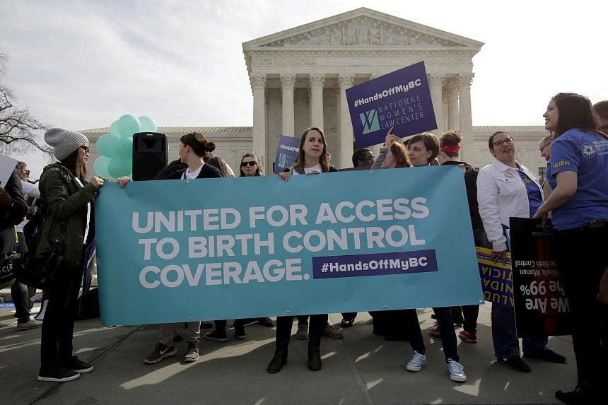The American Civil Liberties Union sued the administration in federal court in San Francisco to try to halt the rule, claiming among other things that it violated the US Constitution's requirement for separation of church and state.