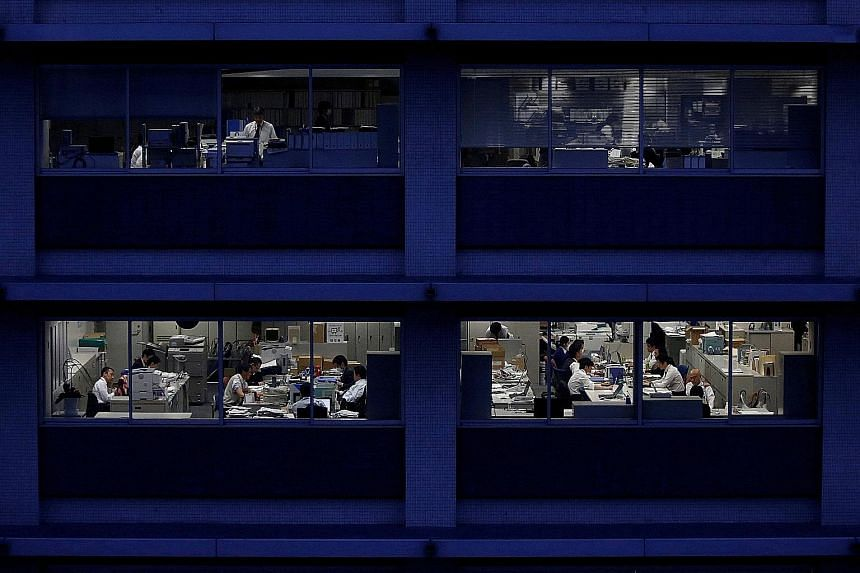 The trend of excessive overwork in Japan first took root in the post-war boom years as workers tried to maximise earnings, and remained after the economy slowed.