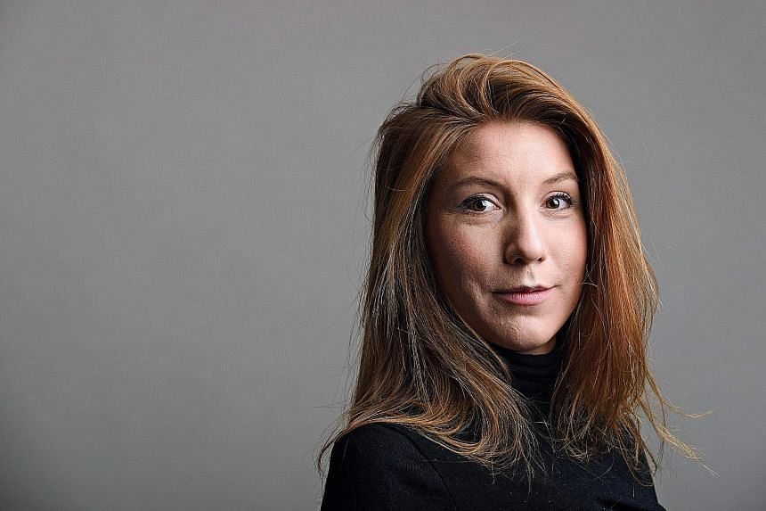 The torso of Swedish journalist Kim Wall was found floating in the waters off Copenhagen on Aug 21, 11 days after she went missing.