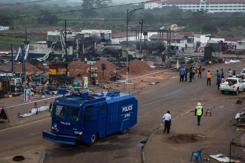 Ghana, a relatively new oil and gas producer, has suffered several recent accidents including an explosion in 2015 that killed around 100 people.