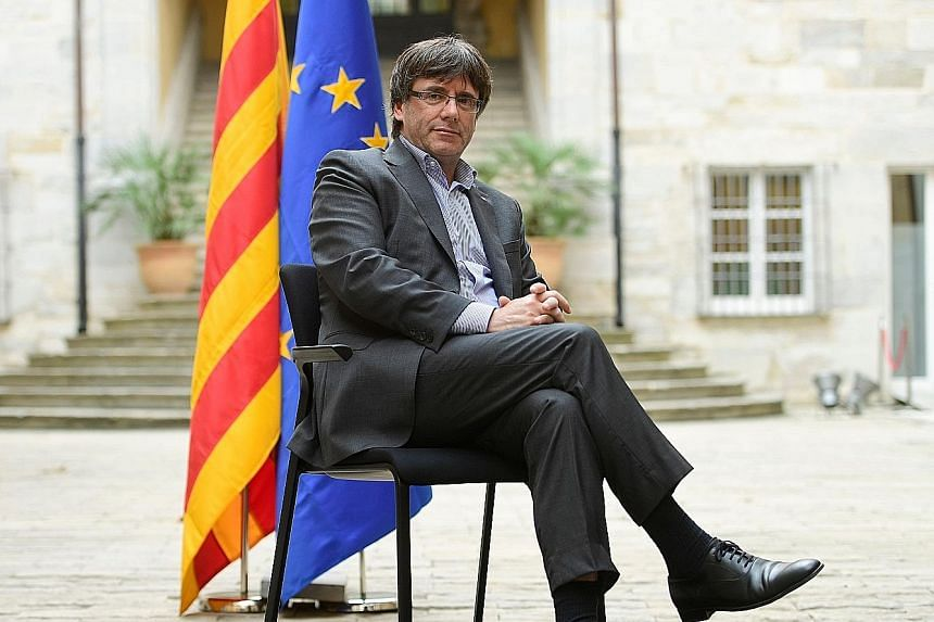 Now known as the Scourge of Madrid, Catalan President Carles Puigdemont is determined to break away from Spain and lead the region to independence. Even as a young journalist in the 1980s, he passionately defended Catalonia's culture, history and lan