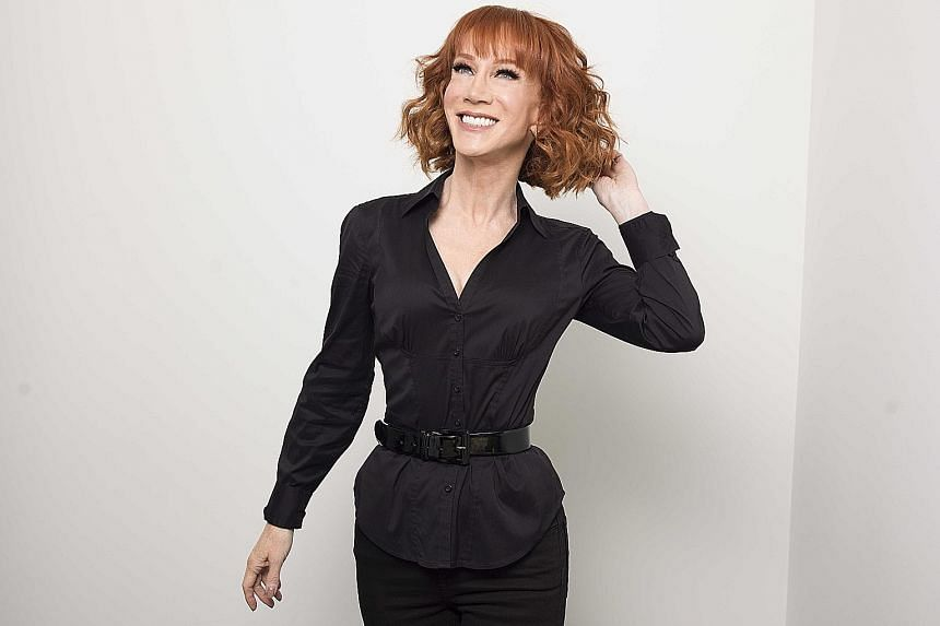 Actress and comic Kathy Griffin appears to have recovered from the photo stunt.