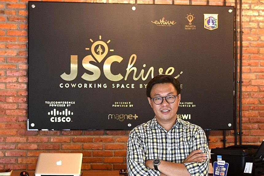 """Mr Willson Cuaca, whose firm specialises in early-stage investment, says of Indonesia: """"The window of opportunity is there. As long as you can... solve real problems using technology, you can be successful."""""""