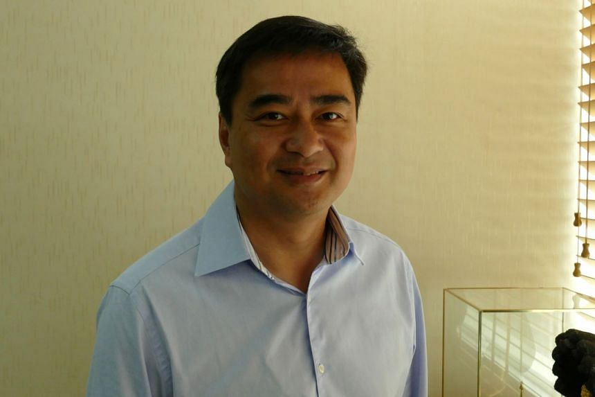 Former Thai prime minister Abhisit Vejjajiva voiced objections over the delay in the upcoming election, saying citing legislation as the cause of the postponement may no longer be reasonable.