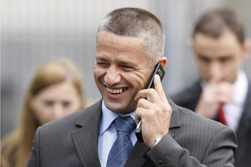 Naser Oric, a commander whose men were accused of killing Serb civilians during the 1992-95 war, in a 2008 file photo. He was acquitted of war crimes against Serbs on Monday (Oct 9).