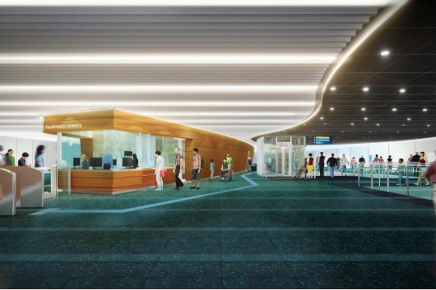 An artist's impression of the concourse at Prince Edward station.