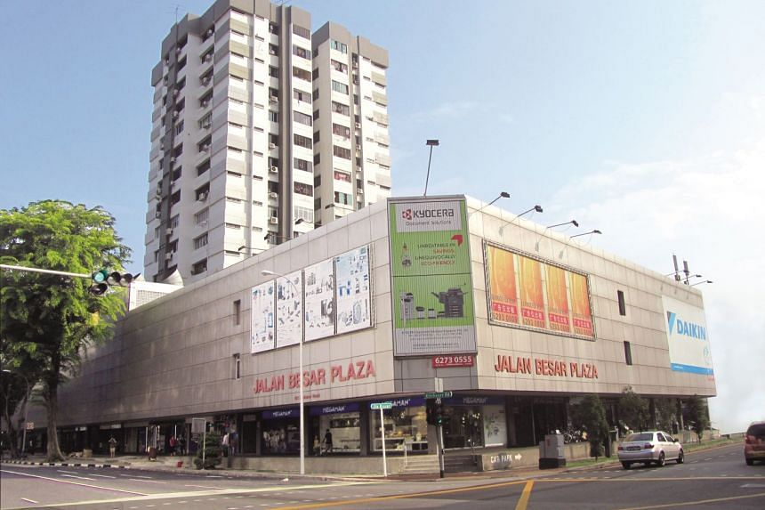 The mixed freehold development comprises 44  apartments and 111 commercial units.
