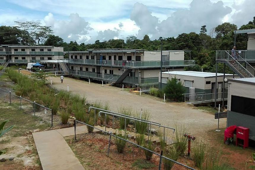 An undated handout picture received from the Refugee Action Coalition on Aug 7, 2017 shows the Australian-run East Lorengau Transit Accommodation for refugees in East Lorengau on Manus Island in Papua New Guinea.