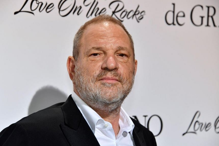 US film producer Harvey Weinstein in a file photo taken on May 23, 2017.