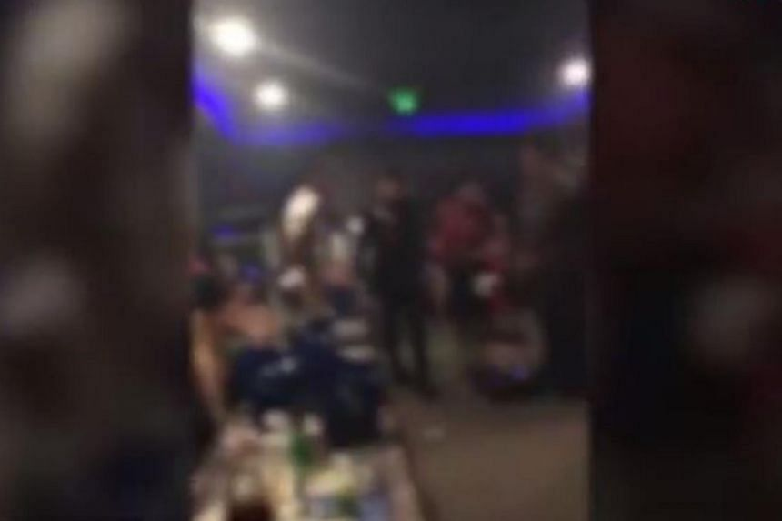 "The video which went viral on Facebook allegedly showed the policemen ""having fun"" at an entertainment centre in Pusat Perniagaan Bakri in Muar."