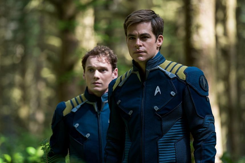 A statue of actor Anton Yelchin (pictured left, as Pavel Chekov in Star Trek Beyond) was unveiled in the Garden of Legends at the cemetery, near late singer Chris Cornell's memorial.