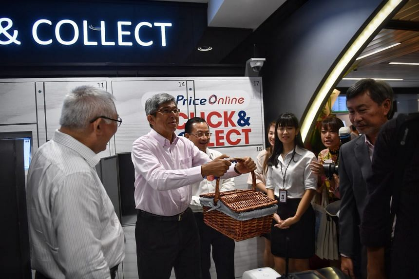 Minister for Communications and Information Yaacob Ibrahim at the official launch of the redeveloped SingPost Centre in Paya Lebar on Monday, Oct 9, 2017.