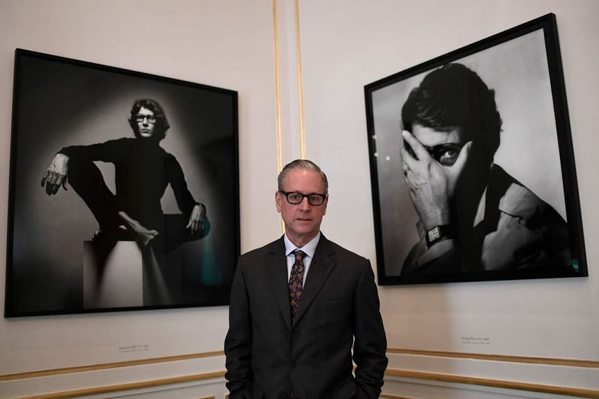 Madison Cox (above) is the presumptive legal heir to the estate of businessman Pierre Berge, who was the brain behind designer Yves Saint Laurent's fashion empire.