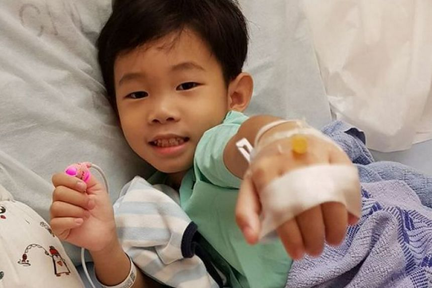 Braxton Ong, who suffered anaphylaxis – a serious allergic reaction – received life-saving treatment from Dr Lai Yirong and was admitted to hospital last Friday. He has since been discharged and a test to determine the cause of the anaphylaxis wi