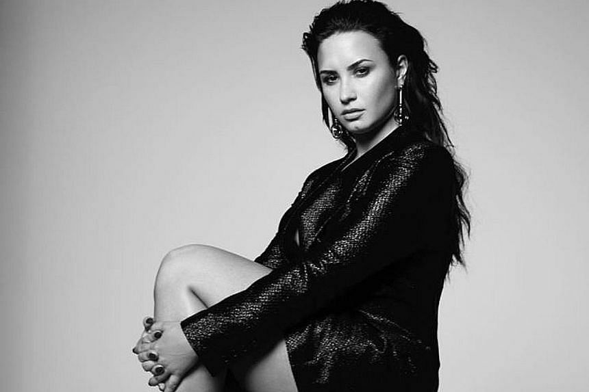 It is a singer's greatest nightmare: when the spotlight is on her and she loses her voice. And that was exactly what happened to American songstress Demi Lovato (left) when she turned up at the iHeartRadio Theatre in New York last Saturday. The venue