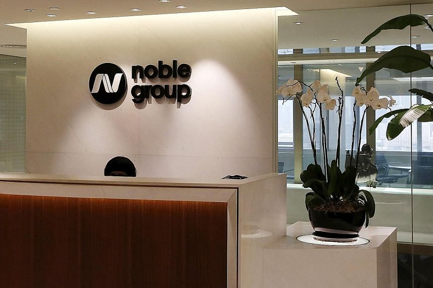 Noble had estimated it would be paid a certain amount for the unit, and SGX asked the firm to reconcile the difference between the figures.