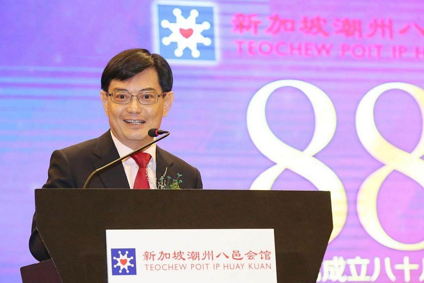 Finance Minister Heng Swee Keat, in a file photo taken on Oct 1, will be in Washington DC from Oct 11 to 13.
