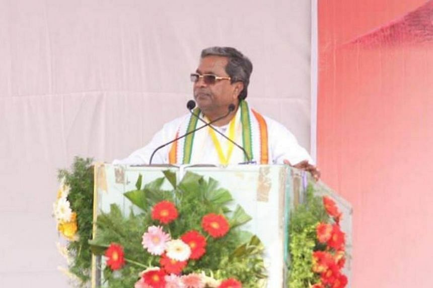Karnataka Chief Minister Siddaramaiah, in a photo from Facebook, has been pushing for the anti-superstition Bill for some time.