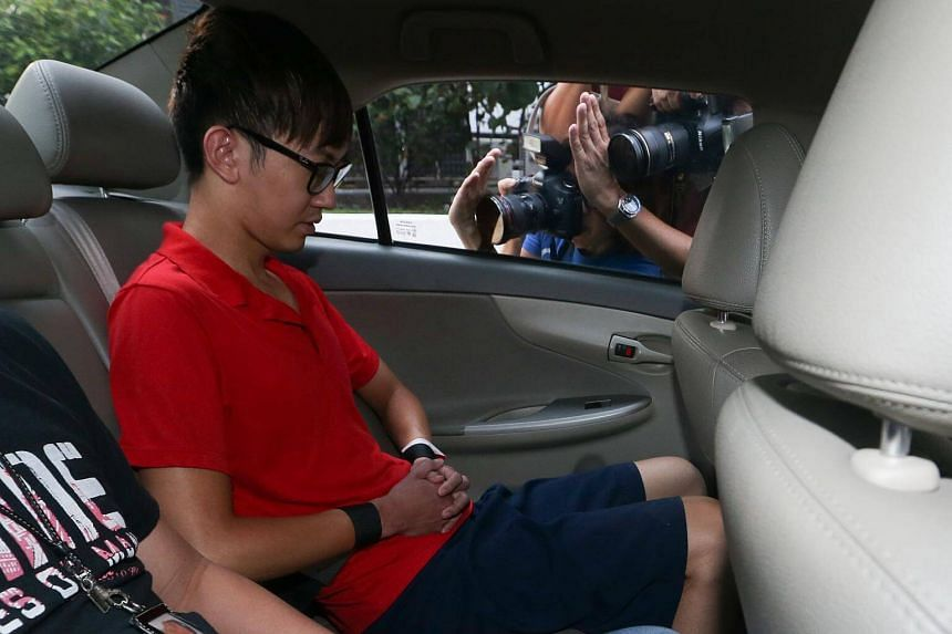 Neo Chun Zheng was charged in court on Nov 28, 2015 with the murder of former stewardess Soh Yuan Lin.