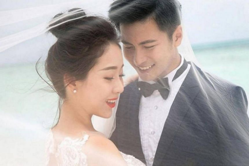 Channel 8 actor Xu Bin admitted that it was tough having to keep mum about his other half for two years.