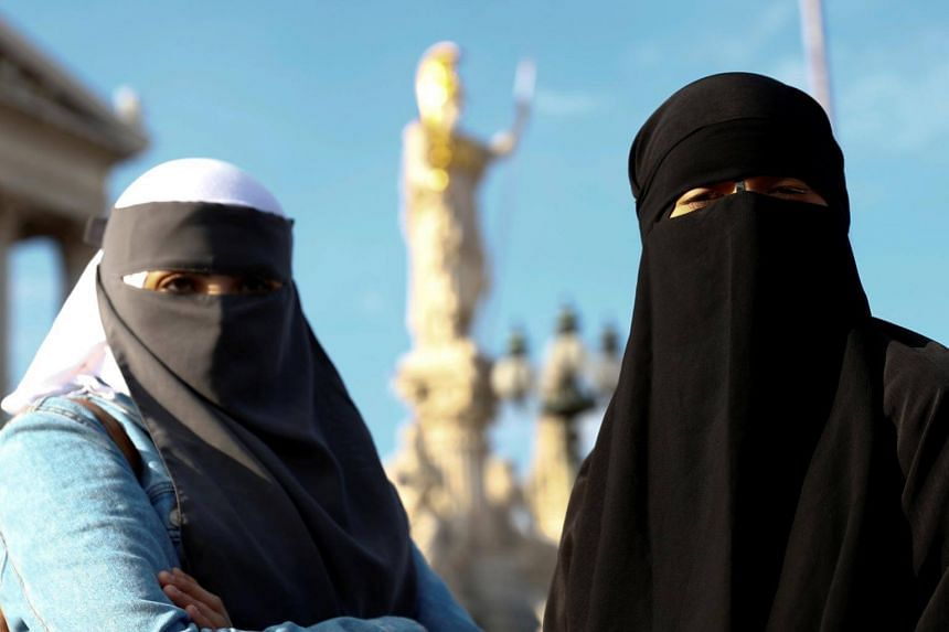 Austria's burqa ban came into effect on Oct 1.