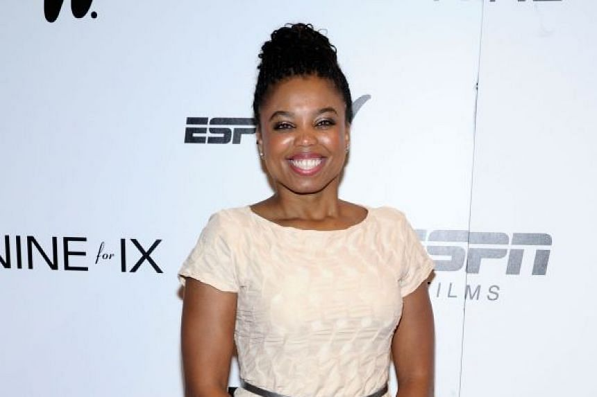 ESPN suspended anchor Jemele Hill for two weeks after the host of its SportsCenter program called for a sponsor boycott following remarks by Dallas Cowboys owner Jerry Jones.