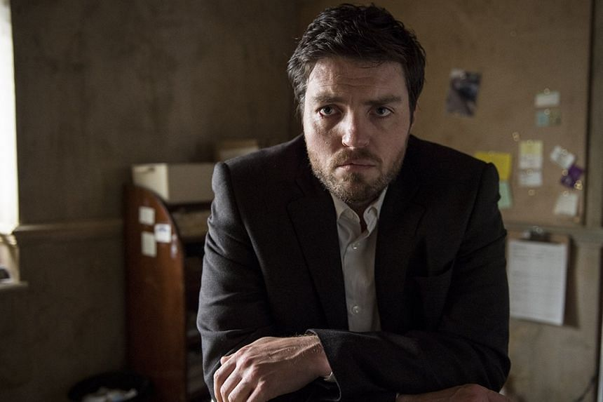 British actor Tom Burke stars in the new TV series C.B. Strike, which is based on J.K. Rowling's crime novels.