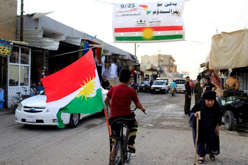 An Iraqi court in east Baghdad ordered the arrest of the organisers of last month's vote for Kurdish independence.
