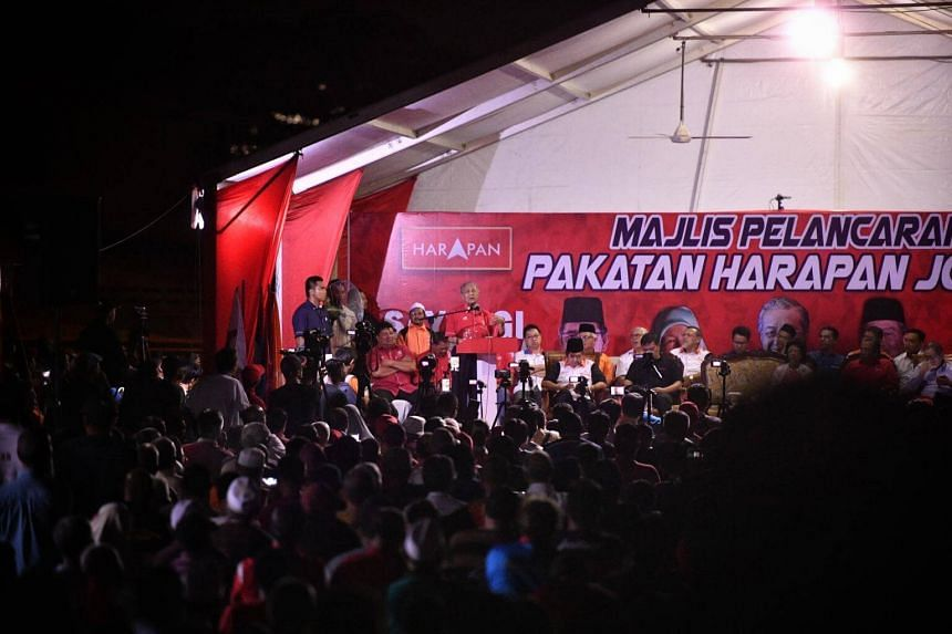 Pakatan Harapan had planned to hold the rally at the Padang Timur field on Saturday.