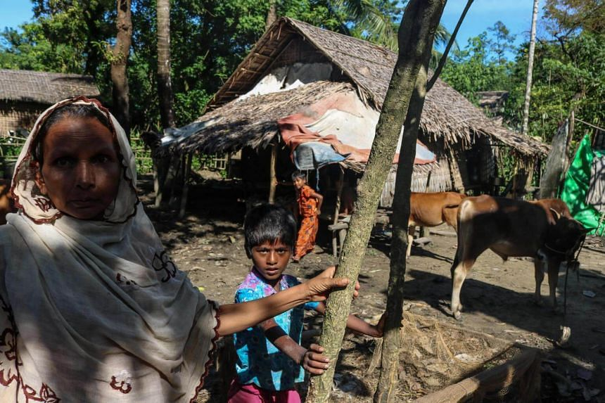 More than half a million Rohingya Muslims have fled to Bangladesh since August following a military crackdown.