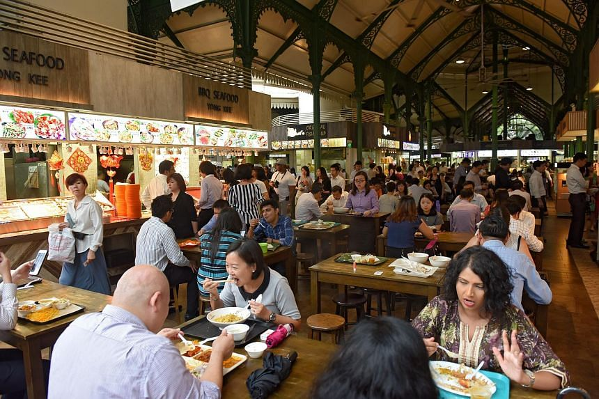The Public Cleanliness Satisfaction Survey found that satisfaction was lowest for cleanliness of hawker centres and public spaces after events, at 60 per cent and 59 per cent respectively.