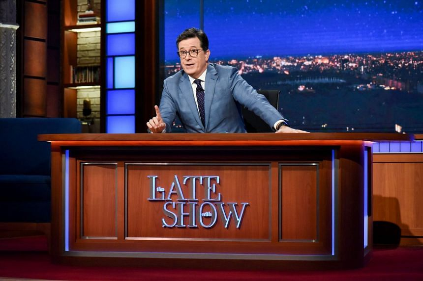Stephen Colbert was one of the many talk show hosts who gave their take on Harvey Weinstein's sexual harassment allegations.